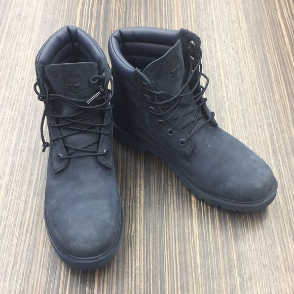 Navy blue size 10 timberland boots